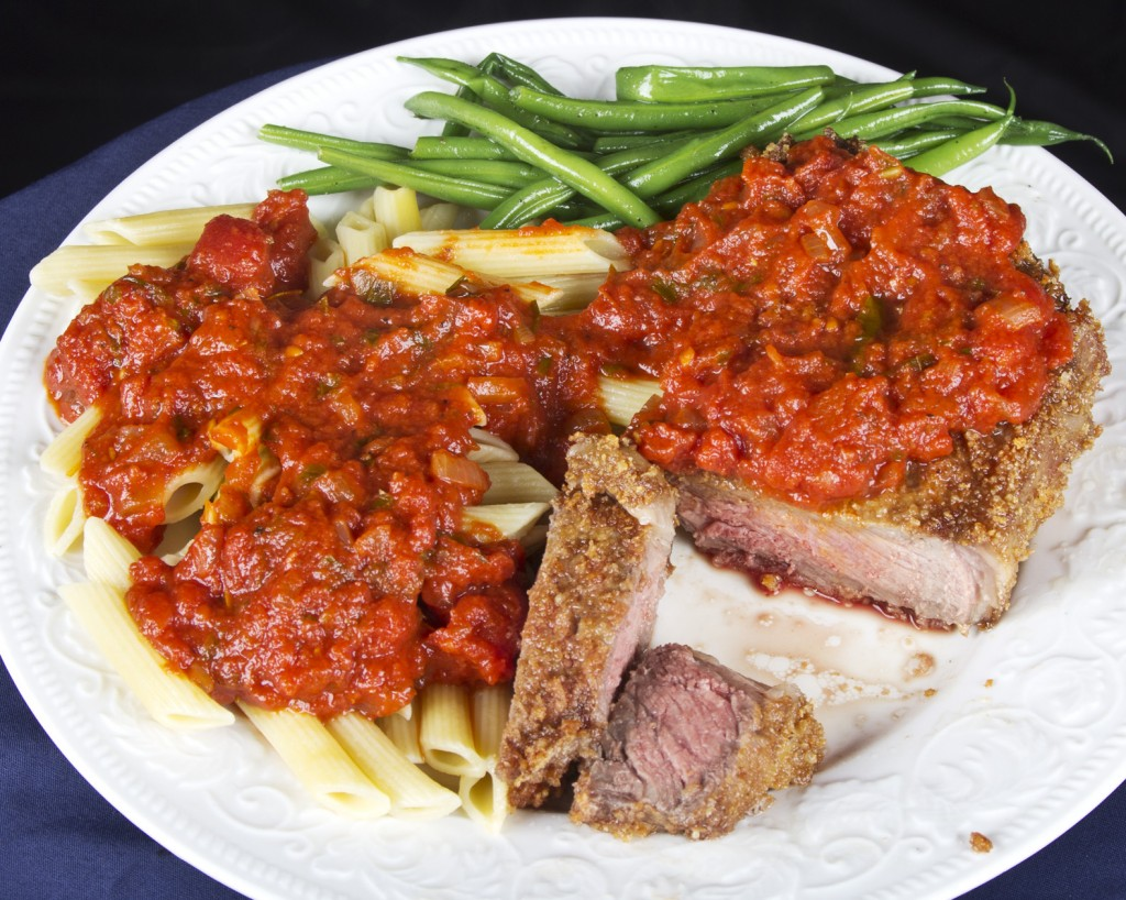Italian-style fried steak