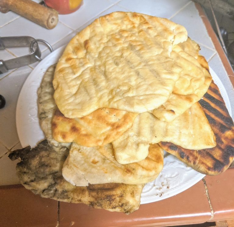 Grilled Lavash