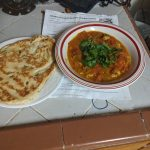 Karahi Chicken and naan